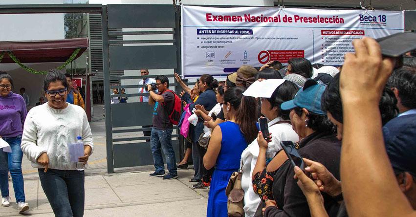 BECA 18: Mayoría de talentos que rendirá el Examen Nacional procede de las regiones - PRONABEC - www.pronabec.gob.pe