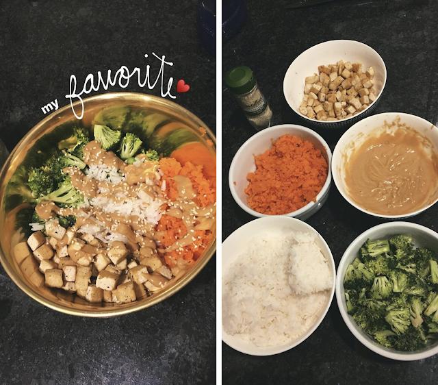 preparation and presentation of my best vegetarian tofu recipe