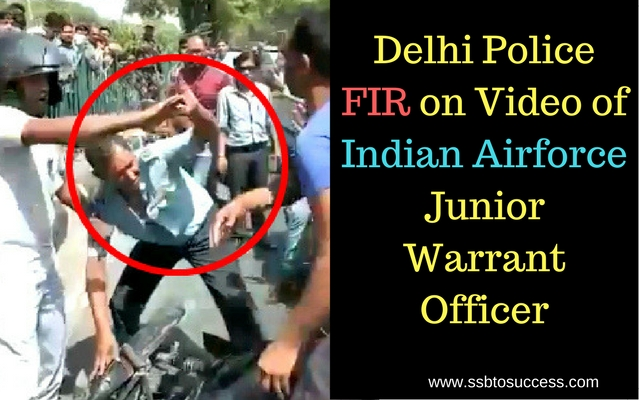 Delhi Police FIR on Video of Indian Airforce Junior Warrant Officer