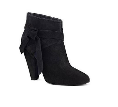 Nine West Black Heeled Booties