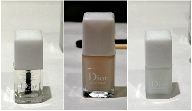 Pelline, Base Coat y Top Coat de Dior