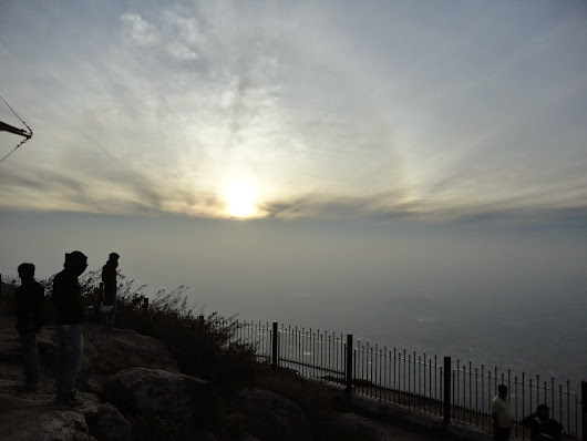 Sky Watch Friday - Dawn at Nandi hills Bangalore, India