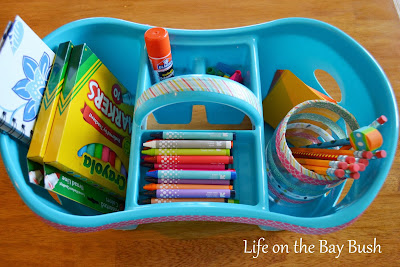 I need this DIY Homework Caddy!  Getting all the school supplies in one spot is the hard part!  I'm going to be organized this year for back to school!