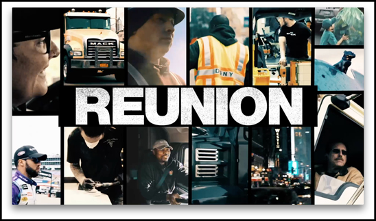 Mack Trucks concluded its RoadLife series with RoadLife Reunion, the ninth and final episode, available now on roadlife.tv. The episode takes viewers behind the scenes of RoadLife production, including a special reunion event featuring the stars of the series.