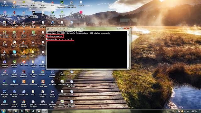 Cara menghilangkan virus shortcut