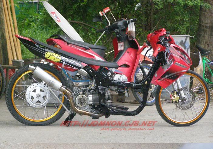 Modifikasi Motor Vega R 2007: Lihat Foto Foto Terbaru