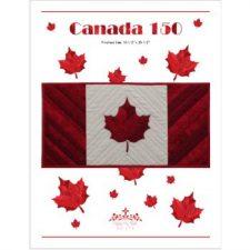Canada 150 pattern by Kathy K. Wylie