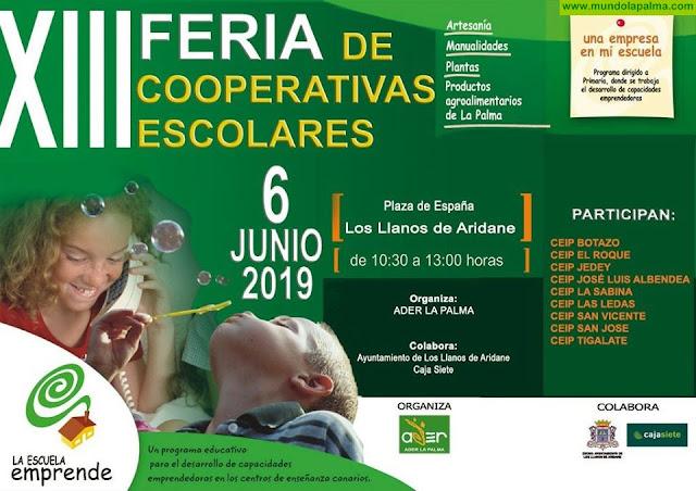 La XIII Feria de Cooperativas Escolares