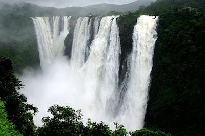 Jog Falls water fall in Bangalore