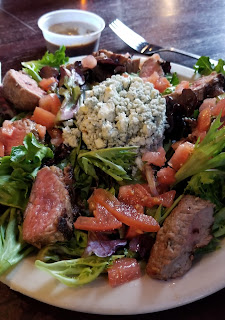 Dugan's steak salad from January 2019