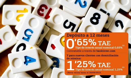 Ahorrocapital qu banco tiene los mejores dep sitos for Bankinter oficina internet
