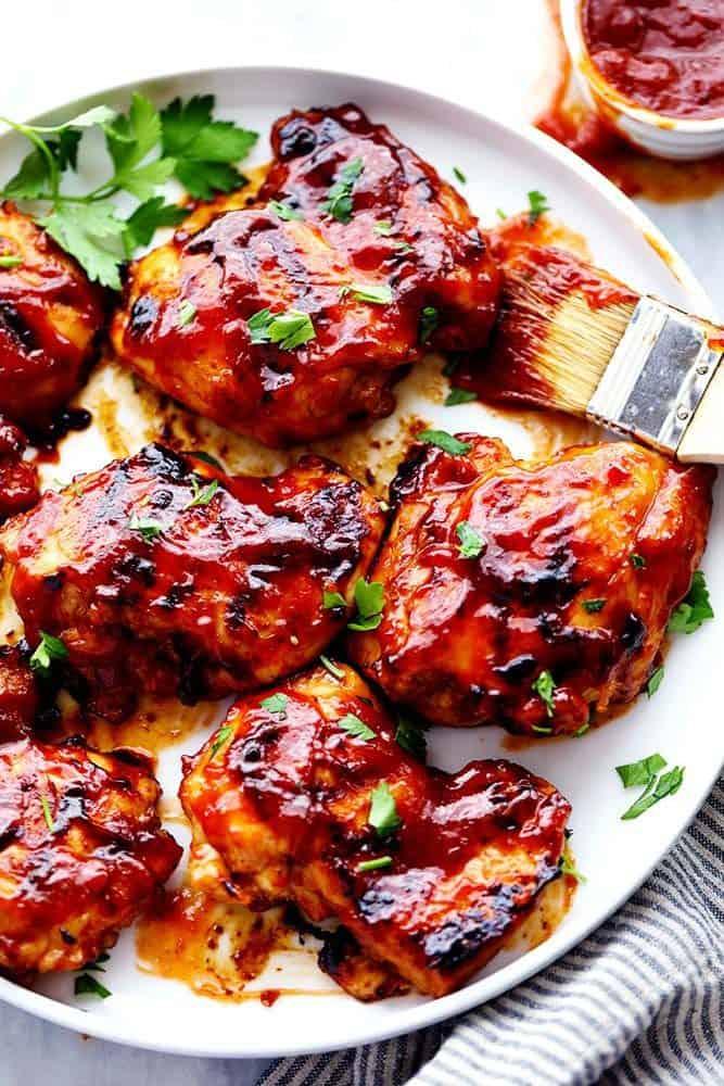 HONEY CHIPOTLE BBQ CHICKEN