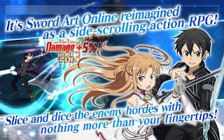 SWORD ART ONLINE:Memory Defrag (NA) Apk v1.11.0 Mod