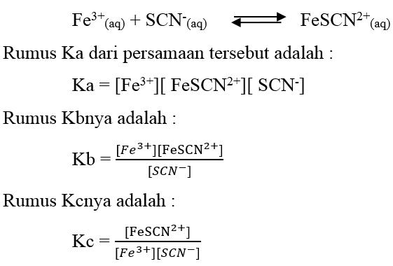 Laporan Praktikum Kimia Dasar 1 - Kesetimbangan Kimia