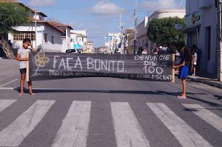 Campanha 18 de maio prossegue em Picuí