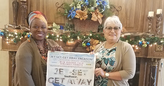 Winner of the 2017 A-WOW Southwest Airlines Ticket Raffle