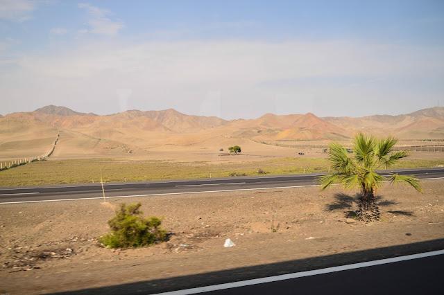 Désert au Pérou