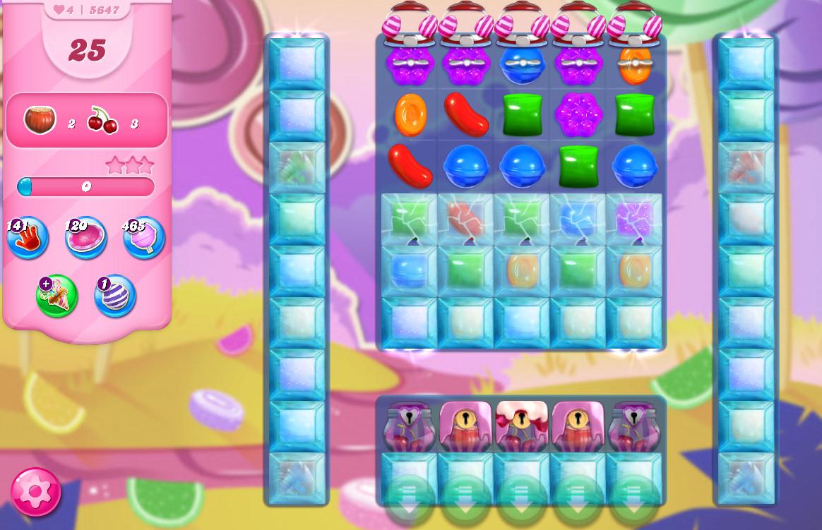 Candy Crush Saga level 5647