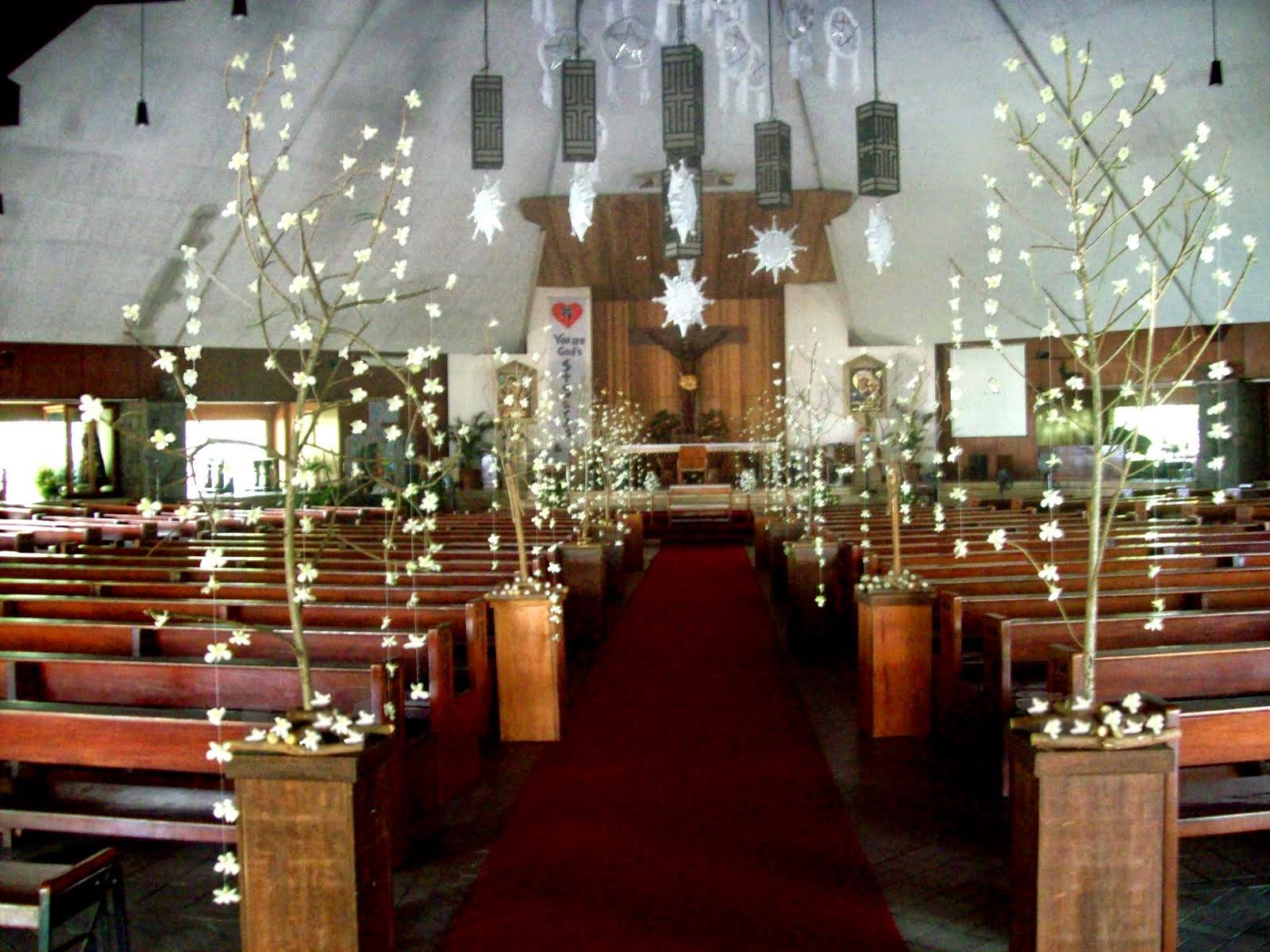 decoracin iglesia boda decoracin arreglo floral para
