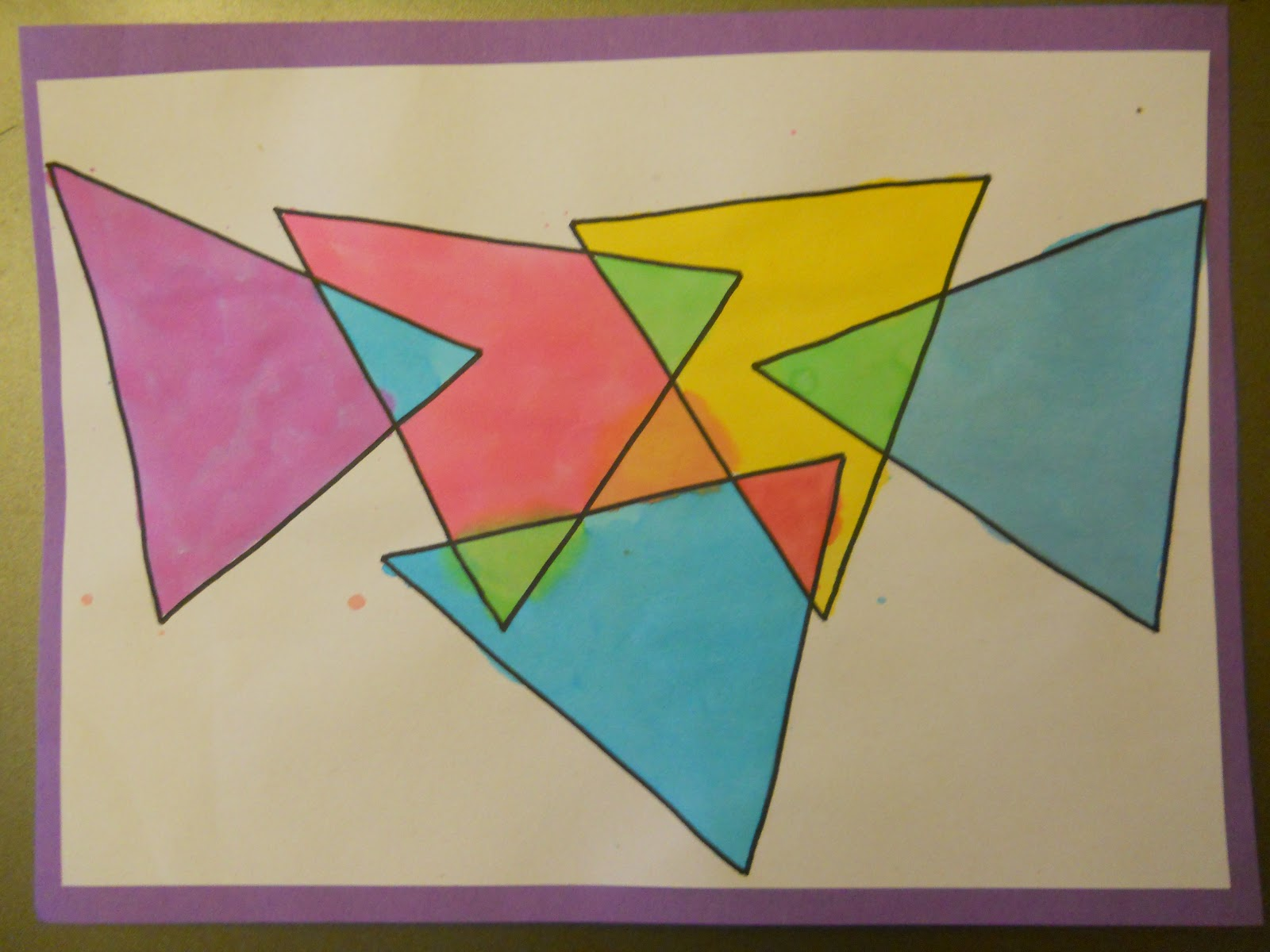 Mrs. T's First Grade Class: Triangles within Triangles - photo#43