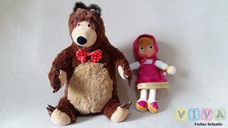Locação Bonecos Masha e o Urso Porto Alegre