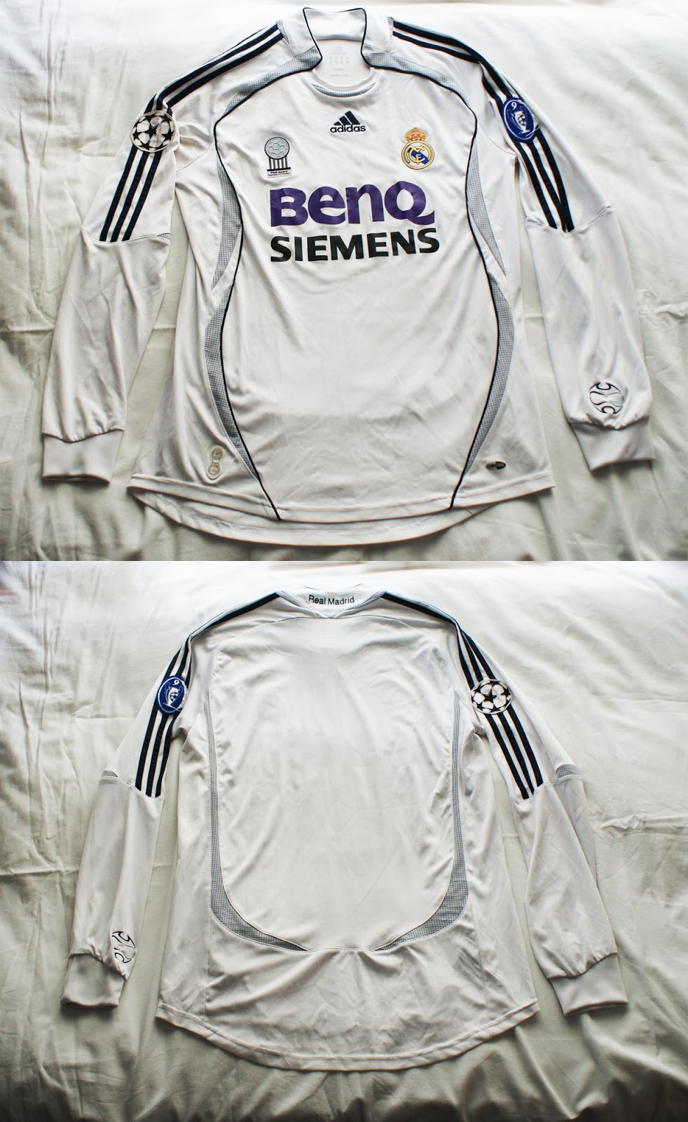 1º Camiseta Real Madrid 2006 2007 f7d3f0054e1e0