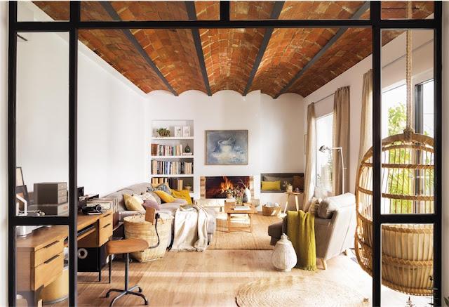 Un piso inspirado en una casa de campo chicanddeco