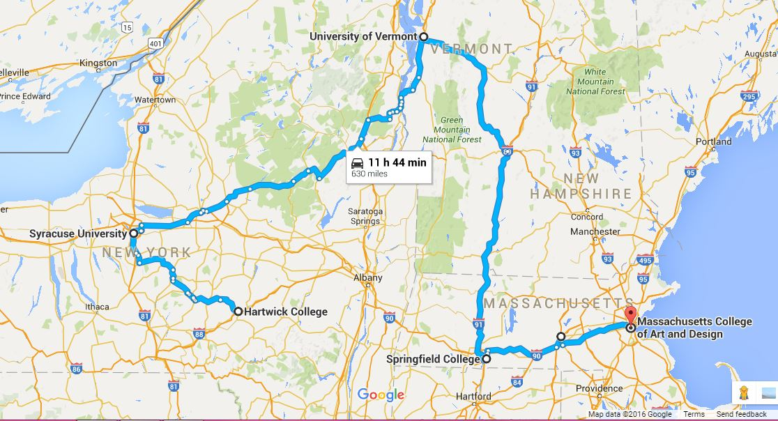 Northeast Road Trip >> Chasing College College Road Trip Series The Northeast