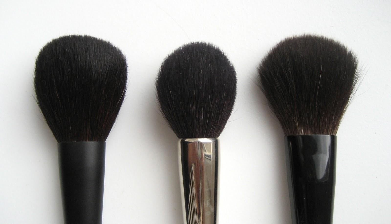 delicate hummingbird.: brush weekend: RMK Face Powder Brush