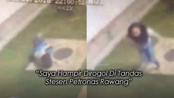 Wanita Hampir Dirogol Di Tandas Stesen Petronas Rawang