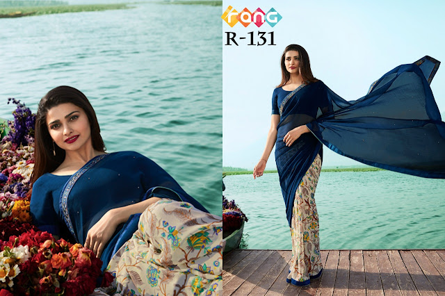 Rang vol 15 georgette Printed Daily wear Saree