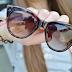 Okulary kocie oczy #sunglasses #retro #cateye