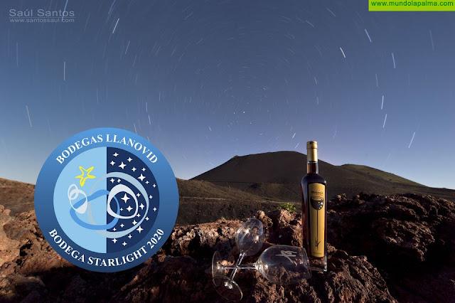 La bodega Llanovid de Fuencaliente se convierte en la primera bodega Starlight del mundo