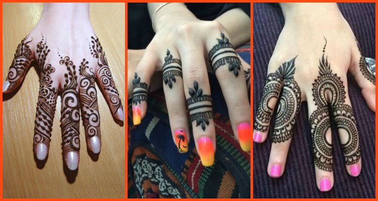 Good-Looking Ring Mehndi Designs For Fingers