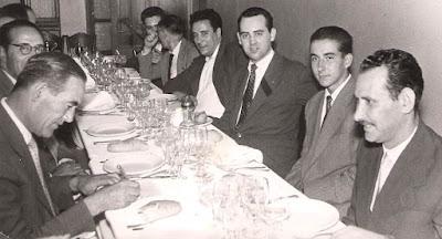 Celebración del Club Ajedrez Barcelona en los años 60 (2)