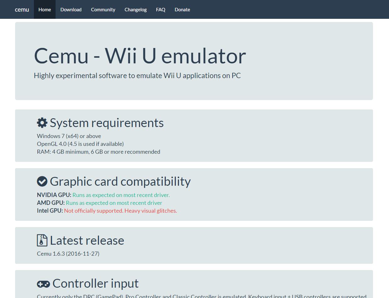 旧版】WiiUエミュレーター「Cemu」使い方まとめ 2017年版
