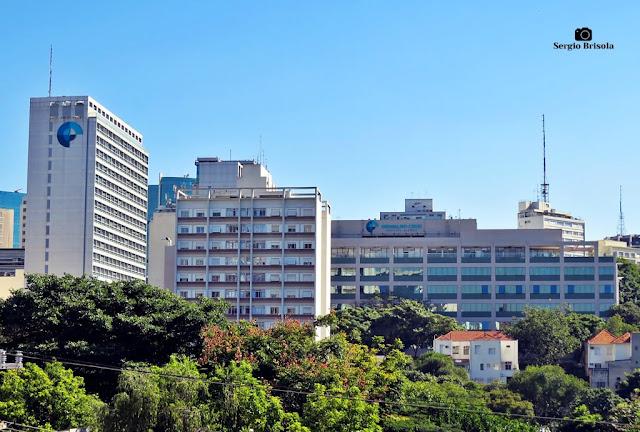 Vista ampla do Hospital Alemão Oswaldo Cruz - Bela Vista -São Paulo