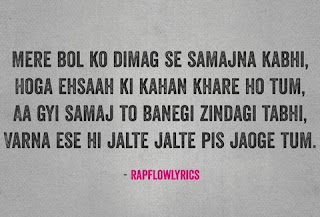 Hindi Rap Quotes - Rap Flow Lyrics | Haters