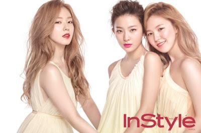 Red Velvet The Saem InStyle March 2016