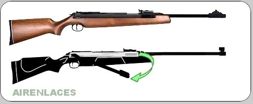 Rifle de aire de palanca