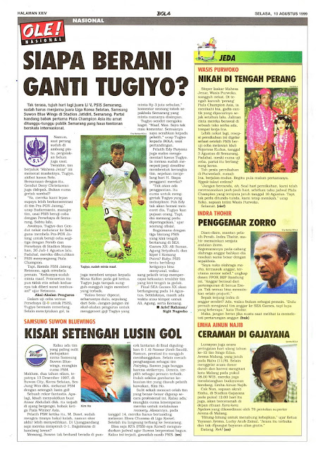 SEPAKBOLA INDONESIA TUGIYO PSIS SEMARANG