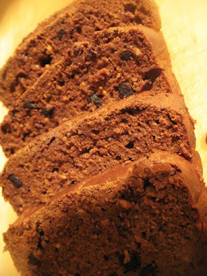 quinoa chocolate ricotta bread