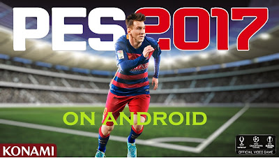 Download PES 2017 Apk + Data For Android