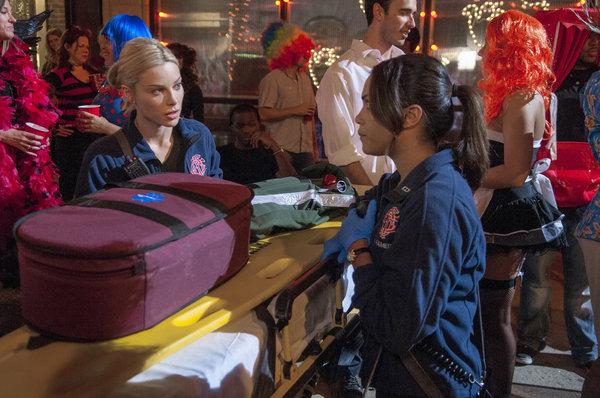 Chicago fire halloween episode / Buffy the vampire slayer
