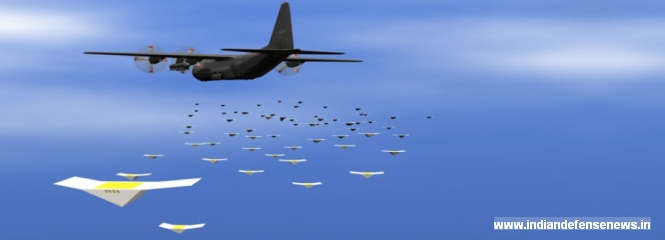 Pentagon Successfully Tests Micro Drone Swarm