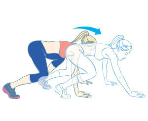 cardio core crawl,core crawl,how do cardio core crawl