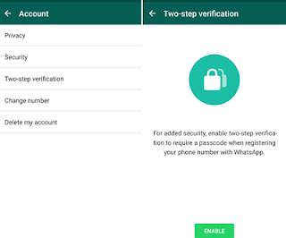 [Tech] WhatsApp Enabled 2 Step Authentication & Audio Background Play