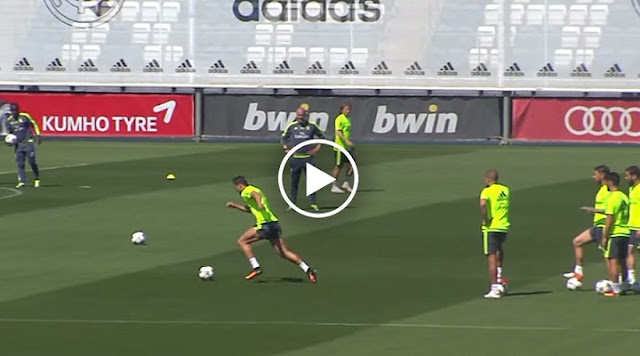 VIDEO. Entraînement intensif à Madrid, Cristiano Ronaldo enchaîne les buts