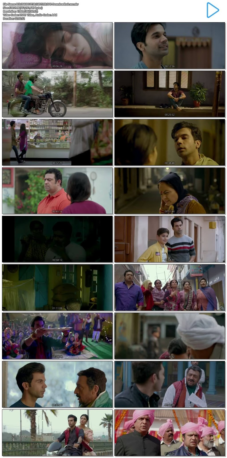 Behen Hogi Teri 2017 Hindi 720p HEVC HDRip