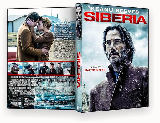 CAPA DVD – Siberia DVD-R AUTORADO